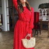 Красивое платье «Валенсия» 42 - 46 семь расцветок