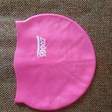 Шапочка детская для плавания бассейна zoggs