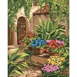 Картина по номерам. Волшебный двор 40 50см KHO3547