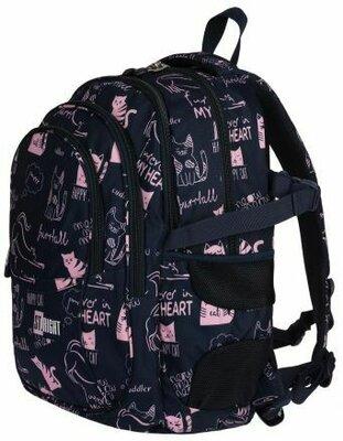 Рюкзак школьний st.majewski Cats