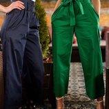 Стильные брюки кюлоты четыре расцветки