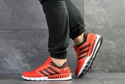 Adidas Clima Cool кроссовки мужские демисезонные оранжевые 7768