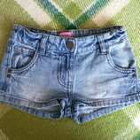 Джинсовые шорты на 5-6 лет