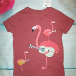 Новая футболка M&S. kids 2-3г