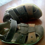 Кожаные босоножки сандалии 28-29 р. 18 см. Baren-schuhe отличное состояние