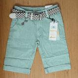 Летние котоновые удлиненные шорты для мальчика