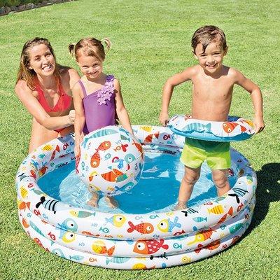 Детский Бассейн 59469. Басейн дитячий. Бассейн надувной Intex. Басейн надувний Інтекс.