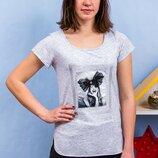 Супер качество Стильная женская блуза-футболка