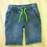 Эластичные джинсовые шорты F&F,рост 116 см 5-6 лет .
