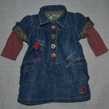Детское платье джинс Некст