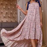 Очаровательное летнее платье 1161