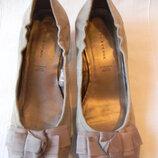 5th avenue-замшевые туфли р.38 5