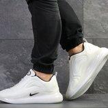 Nike Air Max 720 кроссовки мужские демисезонные белые 7777