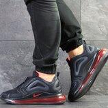Nike Air Max 720 кроссовки мужские демисезонные темно синие 7778