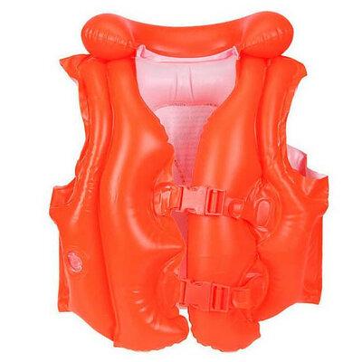 Жилет 58671. Дитячий жилет для плавання Intex. Надувной жилет для плаванья Интекс.