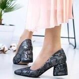 Женские туфли, натуральная кожа, код kivk-2505-1