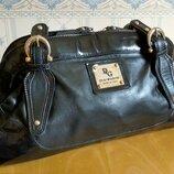 Большая кожаная сумка digregorio made in italy