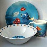 Детская посуда в подарочной упаковке Океан