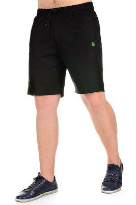 Трикотажные мужские шорты «CLASSIC» черный фабрика-10