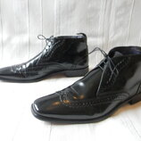 Кожаные ботинки классика Marks & Spencer Autograph р.10 44,5