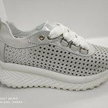 Женские кроссовки сетка натуральная кожа с 36 по 40 размер