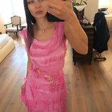 Платье розовая орхидея