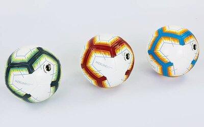 Мяч футбольный 5 Premier League 6882 PVC, клееный
