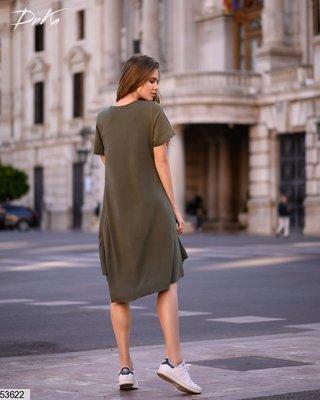c56741954bf Женское турецкое платье трапеция ткань турецкий коттон два цвета скл ...