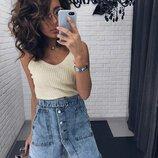 Асимметричная юбка на пуговицах Фабричный Китай Цена Размер S, M Ткань джинс пояс в комплекте