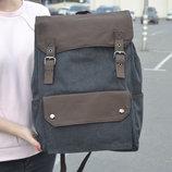 Очень стильный большой рюкзак для ноутбука, городской, повседневный