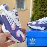 Кроссовки женские Adidas Yung white/purple