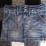 Крутая джинсовая юбочка от New Yorker