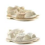 Белые босоножки для девочки Clibee31-36р., 109045, 109046,19