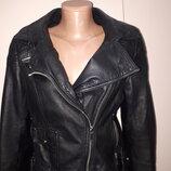 евро 40 куртка- косуха кожа Karen Miller