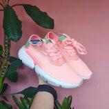 Adidas POD персик пудра женские кроссовки адидас