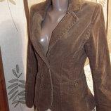 Идеальный вельветовый горчичный пиджак H&M, пог-44,пот-37,дл-61,рук-63,пл-38,по низу-48,сток