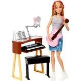 Barbie Барби с гитарой и пианино fcp73 girls music blonde activity playset