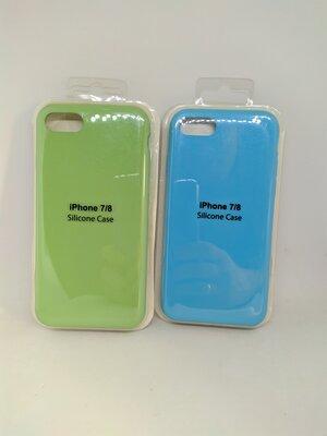 Чехол iPhone для 7/8 XR Xs Max Silicon case айфон