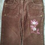 Брюки вельветовые штаны