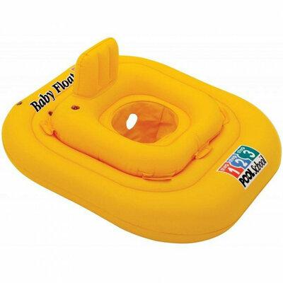 Плотик 56587 Желтый, Intex. Круг для плавання дитячий Інтекс. Детский круг для плаванья