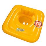 Плотик 32050 Детский Желтый 69-69 См. Круг для плавання дитячий.