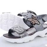 Босоножки открытые на девочку Lilin Shoes. GUCCI