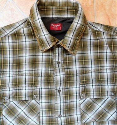 рубашка Wrangler размер L 50-52 оригинал