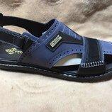 Сандалии мужские кожаные Kristan ST Blue - Black