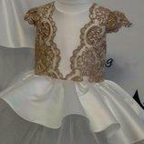 Детское нарядное платье выпускное пышное