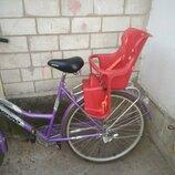 Велокресло детское