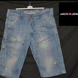 Брендові шорти чоловічі Jack & Jones M Данія шорты джинсы мужские