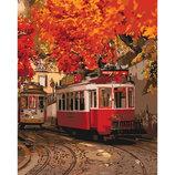 Картина По Номерам Идейка. Городской Пейзаж КРАСКИ Осени 40 50СМ KHO3532
