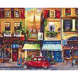 Картина По Номерам Идейка. Городской Пейзаж УЛИЦАМИ Парижа 40Х50СМ KHO2189