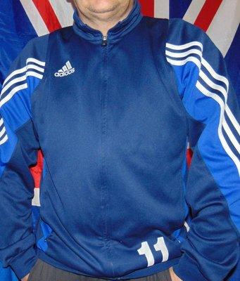 Спортивная фирменная кофта мастерка олимпийка .Adidas.л-хл